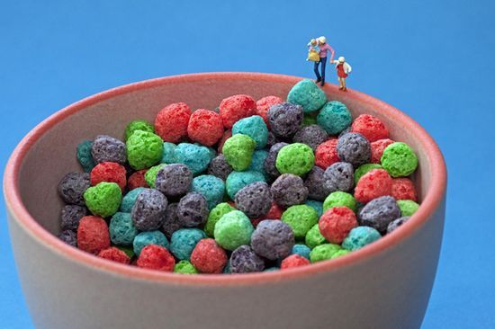 Cereal ball pit