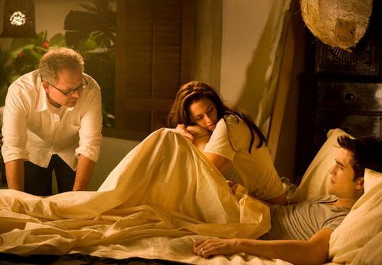 En la cama con Condon, Bill Condon, director del filme.