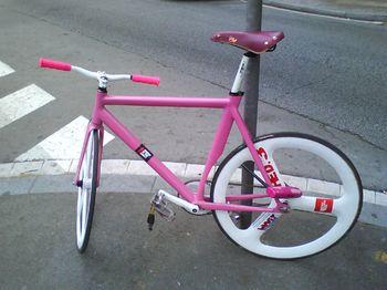 La bici de la pantera rosa micrografias