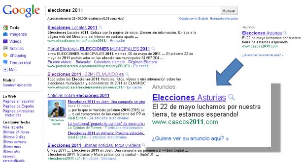 PPC electoral Cascos toma delantera
