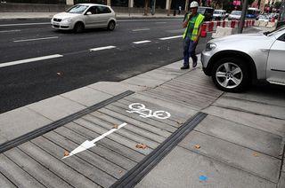 Carril bici serrano