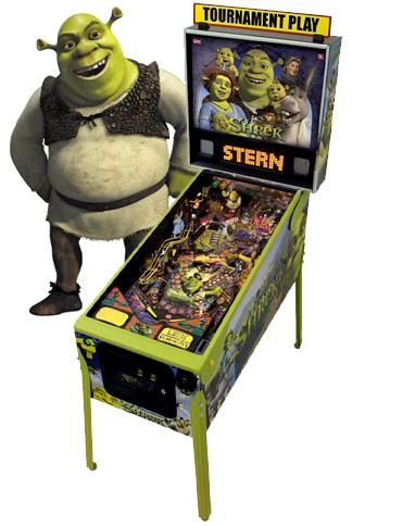 Pinball Shrek