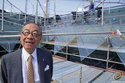 El arquitecto I. M. Pei