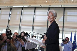 Christine Lagarde, ministra de Finanzas y aspirante a dirigir el FMI. / THIBAULT CAMUS (AP Photo).