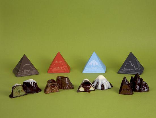 Montañas chocolate islandia