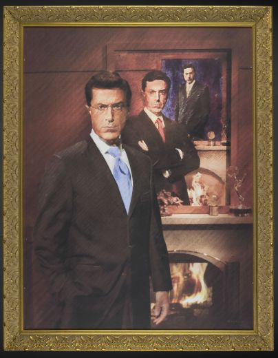 Stephen-colbert-portrait-at-smithsonian