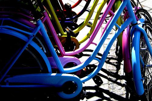 Bikeshop Rainbow, originally uploaded by [Zakkaliciousness].
