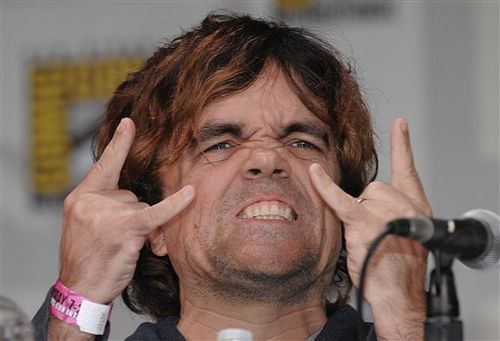 Peter Dinklage Tyrion Lannister) en la Comic Con