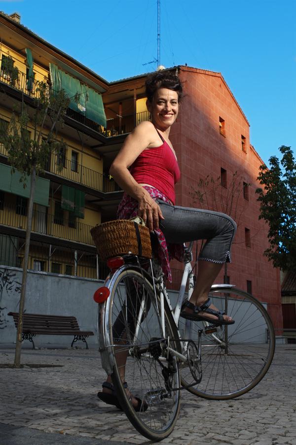 Celia Bermejo #BikeMAD por Moeh Atitar