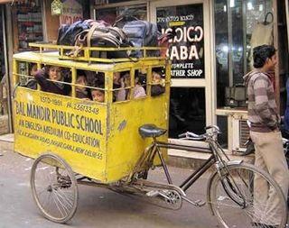 Bicibus en India