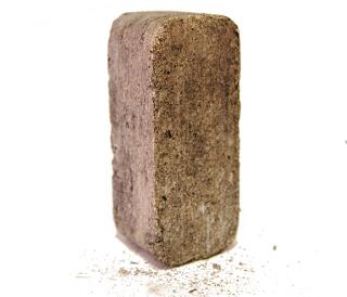 Una briqueta de aluminio_320