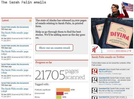 Sarah Palin emails   World news   The Guardian