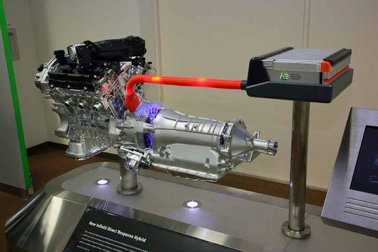 Mecánica: motor V6, eléctrico, cambio y baterías