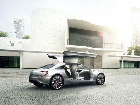 Mercedes F125! trasera