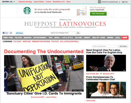 Huffington Post Latino Voices