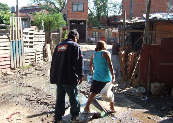 Favela en Buenos Aires ( foto BBc)