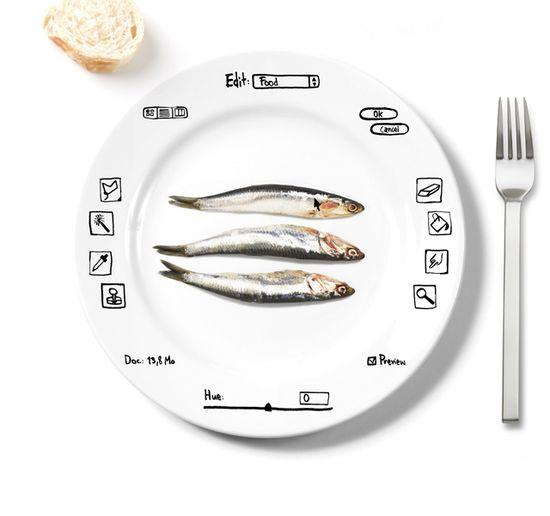 Photoshop comida