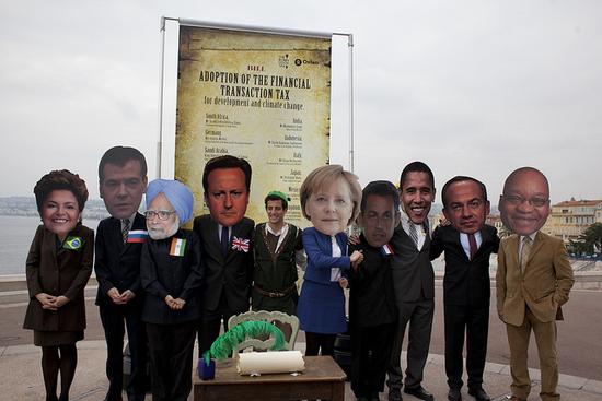 Oxfam en la Cumbre del G20