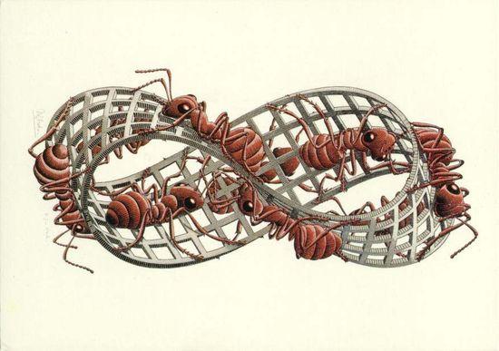 Cinta de Moebius Escher