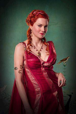 Lucy Lawless en 'Spartacus'