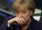 Merkel pensativa
