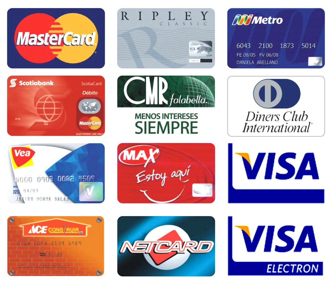 Tipos de Tarjetas de Creditos Tarjeta ya Sea de Crédito
