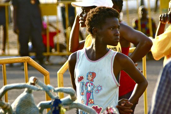 Un chico en Annobón
