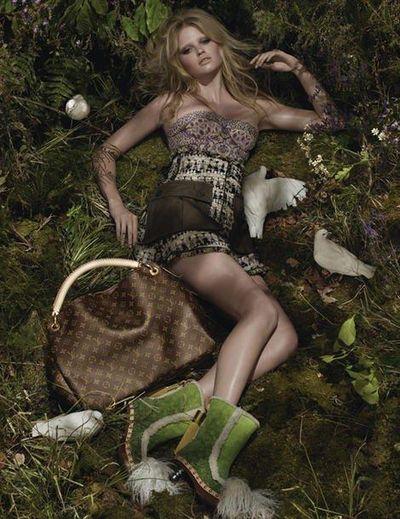 Lara Stone para campaña Louis Vuitton