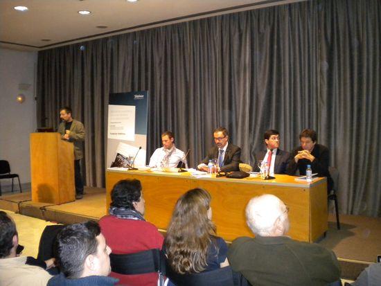 Presentación del libro 'Periodismo ciudadano' en Madrid / Foto: M. Á. Medina