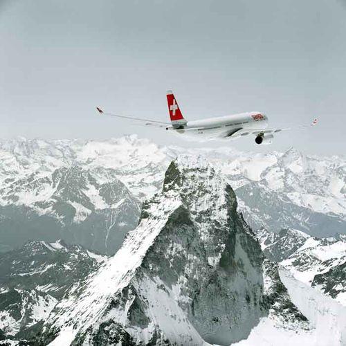 Avión de Swiss 2
