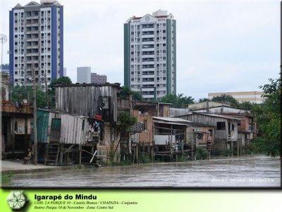 Favela en rascacielos