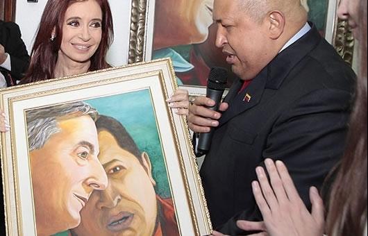 Hugo-Chávez-Cristina-Kitchnner