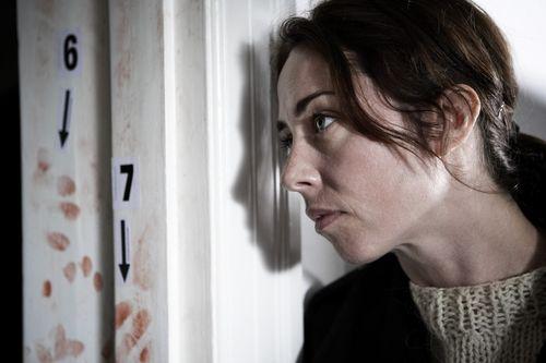 Sofie Grabol en 'The Killing'./ SONY - AXN