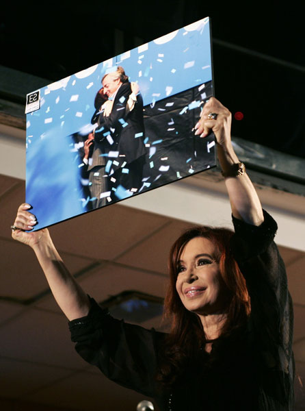 Cristina en Argentina