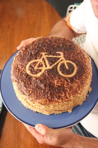 Bicycle-bdaycake