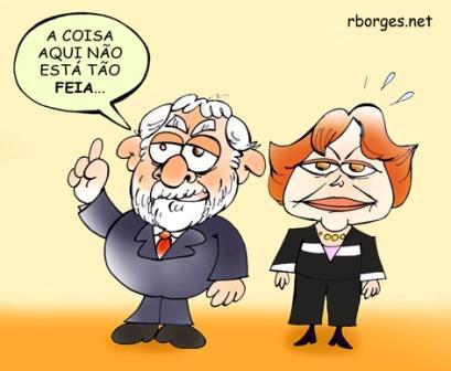 Dilma  cricatura