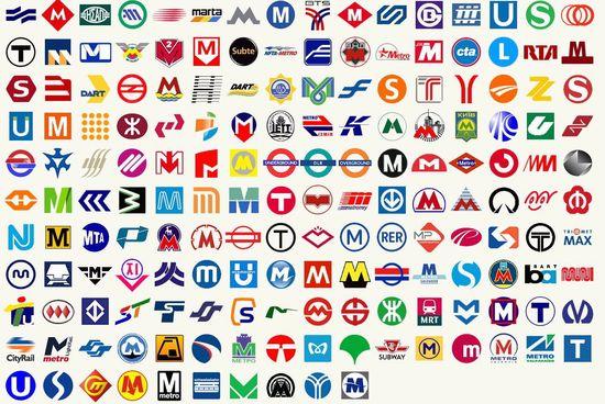 encontrar los logos de más de un centenar de metros de todo el mundo