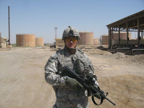 Dan Choi en Irak