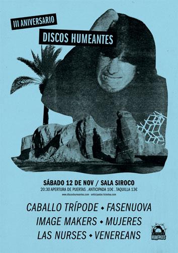 III Aniversario Discos Humeantes en Siroco (Madrid)