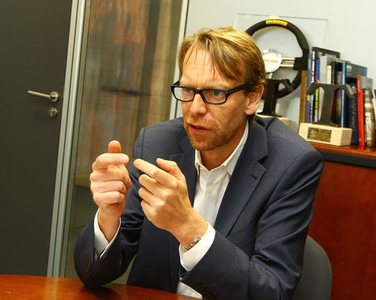Benoit Jacob, Jefe de Diseño de BMW i