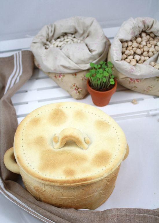 Cocido maragato olla pan