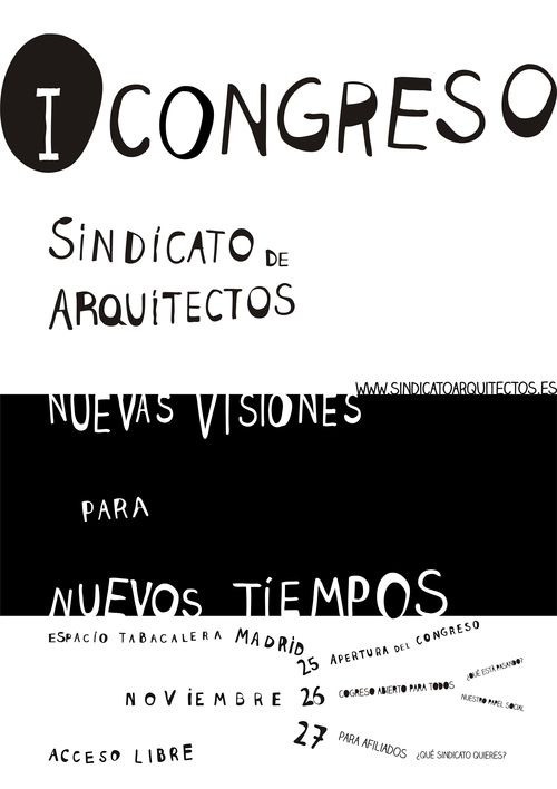 CARTEL CONGRESO SINDICATO 2