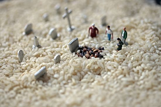 Rice funeral