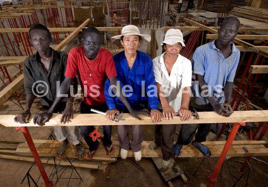 Sudan construccion