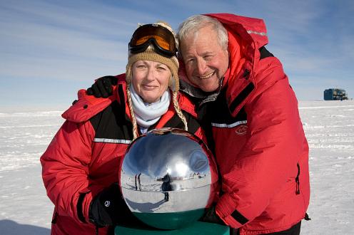 Los Mandles en el Polo Sur.