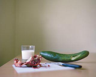 Still life with Nike cucumber  Ting Ting Cheng  Galería Addaya  Palma de Mallorca