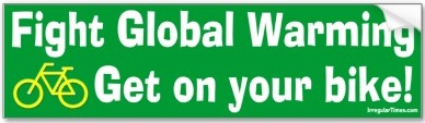 Fight global warming