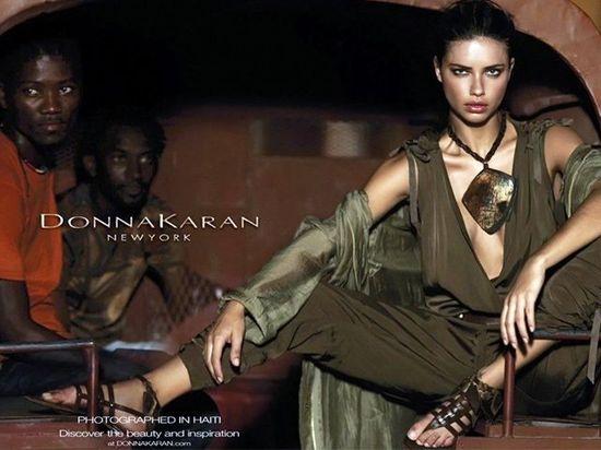 La moda de Donna Karan fotografiada en Haití.