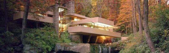 Casa de la Cascada de Frank Lloyd Wright.