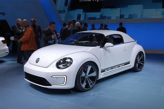 VW E-Bugster / newspress